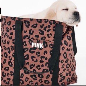 PINK Victoria's Secret Bags - Victoria's Secret Pink Animal Print Weekender Tote